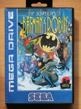 Batman & Robin Mega Drive Beat em Up