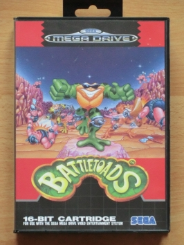 Battletoads Mega Drive Beat em Up