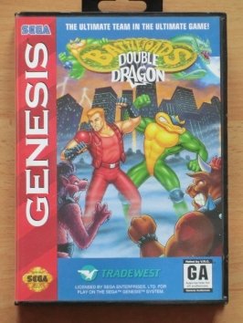 Battletoads Double Dragon Mega Drive Beat em Up