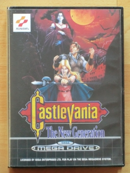 Castlevania Mega Drive Action