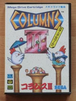 Columns 3 III Mega Drive Puzzle