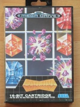 Columns Mega Drive Puzzle