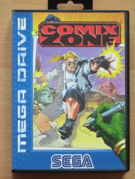 Comix Zone Mega Drive Beat em Up