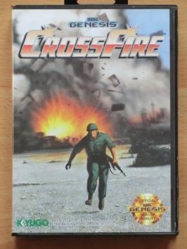 Crossfire Mega Drive Shmup