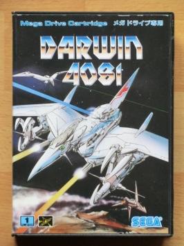 Darwin 4081 Mega Drive Shmup