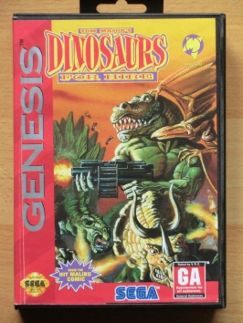 Dinsosaurs for Hire Mega Drive Run and Gun