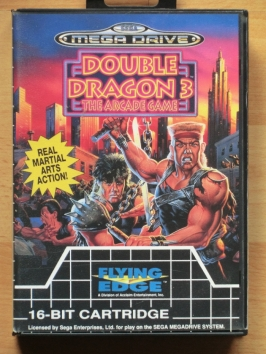 Double Dragon 3 Mega Drive Beat em Up