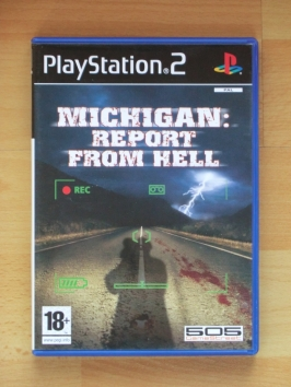 Michigan Report from Hell PlayStation 2 PS2 Survival Horror