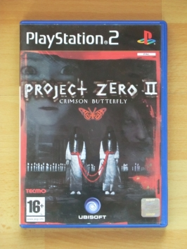 Project Zero 2 Fqatal Frame Crimson Butterfly PlayStation 2 PS2 Survival Horror
