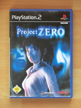 Project Zero Fatal Frame PlayStation 2 PS2 Survival Horror