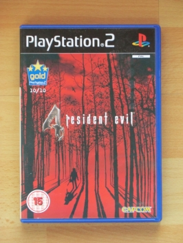 Resident Evil 4 PlayStation 2 PS2 Survival Horror