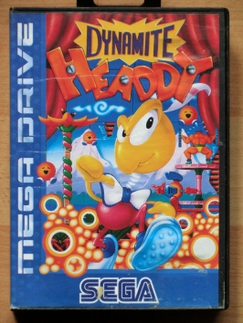 Dynamite Headdy Mega Drive Jump and Run