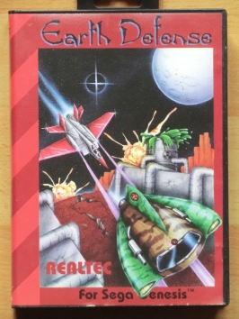 Earth Defense Mega Drive Shmup