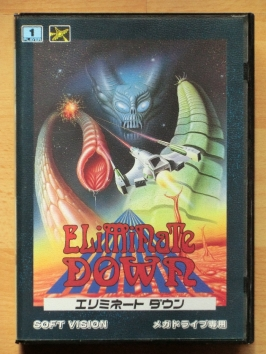 Eliminate Down Mega Drive Shmup