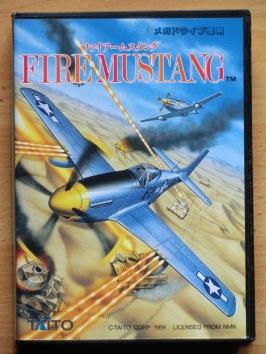 Fire Mustang Mega Drive Shmup