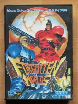 Forgotten Worlds Mega Drive Shmup