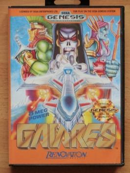 Gaiares Mega Drive Shmup