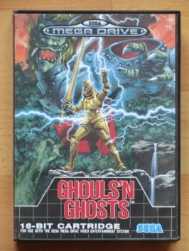 Ghouls n Ghosts Mega Drive Action