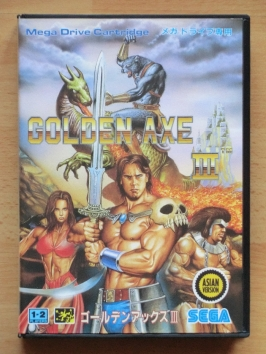 Golden Axe III Mega Drive Beat em Up