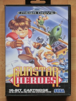 Gunstar Heroes Mega Drive Run and Gun