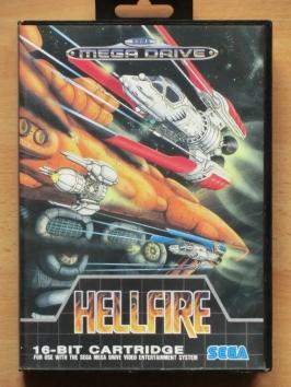 Hellfire Mega Drive Shmup
