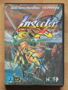 Insector X Mega Drive Shmup