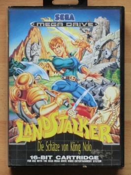 Landstalker Mega Drive RPG
