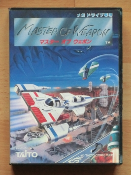 Master of Weapon Mega Drive Shmup