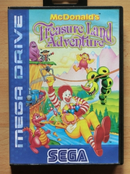 Mc Donalds Treasure Land Adventure Mega Drive Jump and Run