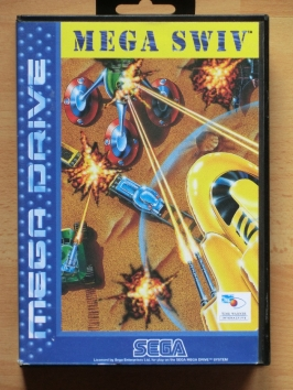Mega Swiv Mega Drive Shmup