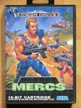 Mercs Mega Drive Shmup