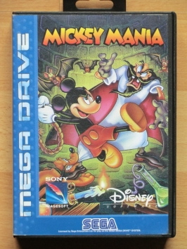 Mickey Mania Mega Drive Jump and Run