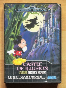 Mickey Mouse Castle of Illusion Mega Drive Jump and Run