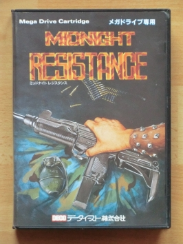 Midnight Resistance Mega Drive Run and Gun