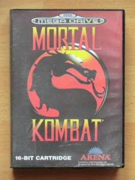 Mortal Kombat Mega Drive Beat em Up