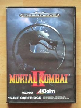 Mortal Kombat 2 Mega Drive Beat em Up