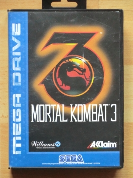 Mortal Kombat 3 Mega Drive Beat em Up