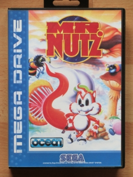 Mr. Nutz Mega Drive jump and Run