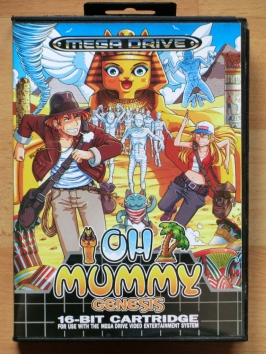 Oh Mummy Genesis Mega Drive Action Puzzle
