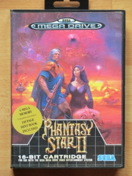 Phantasy Star 2 II Mega Drive RPG