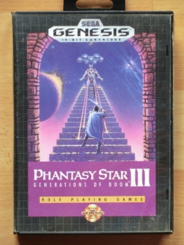 Phantasy Star 3 Mega Drive RPG