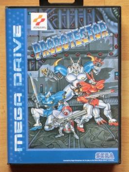 Probotector Mega Drive Run and Gun