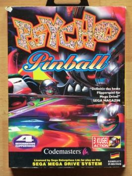 Psycho Pinball Mega Drive Flipper