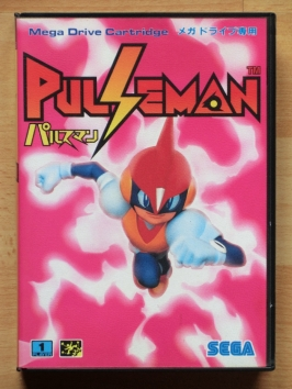 Pulseman Mega Drive Jump and Run