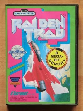 Raiden Trad Mega Drive Shmup