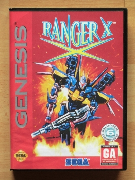 Ranger X Mega Drive Shmup Run and Gun