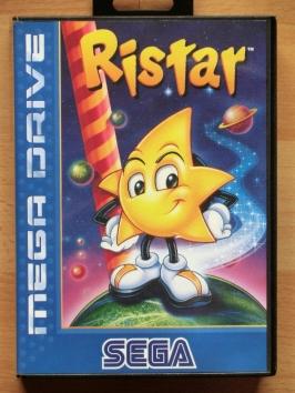 Ristar Mega Drive Jump and Run