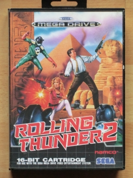 Rolling Thunder 2 II Mega Drive Run and Gun