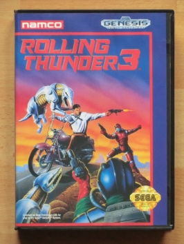 Rolling Thunder 3 III Mega Drive Run and Gun