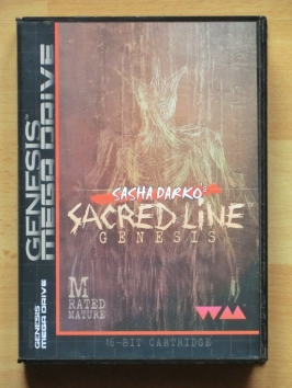 Sasha Darko's Sacred Line Genesis Mega Drive Horror